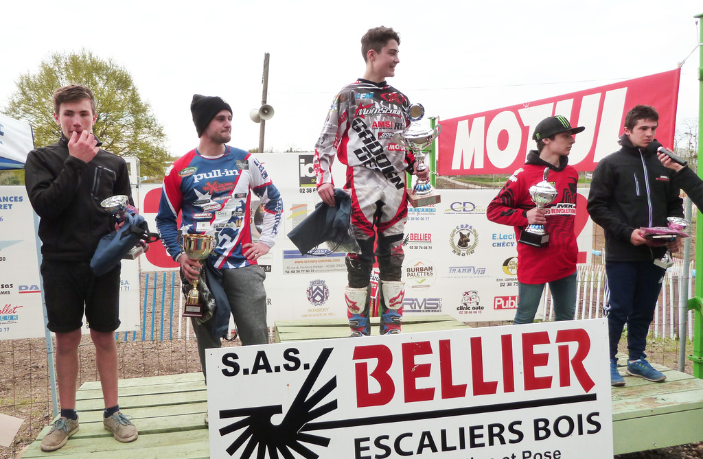 PALMARES / MOTO-CROSS / DONNERY 2016