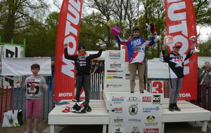 Podiums Moto Cross 15 / 16 Avril 2017